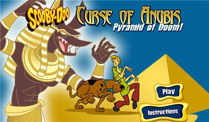 Скуби Ду и Шэгги потерялись в древней и полной тайн пирамиде. Им